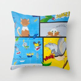 Zipper's Paradise Throw Pillow