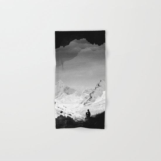 Snowy Isolation Hand & Bath Towel