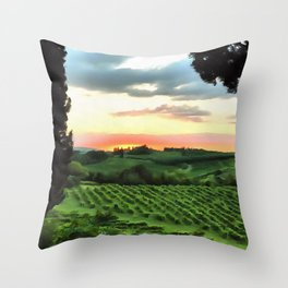 Brighter Side Throw Pillow
