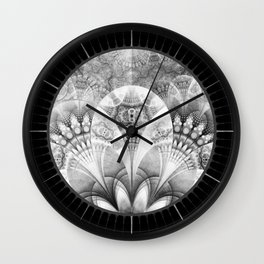 And on my canvas I'll paint a million mansions Wall Clock