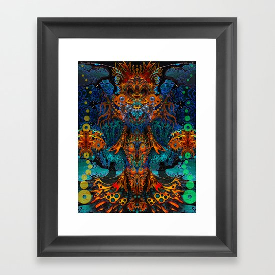 Magic Fairy Framed Art Print