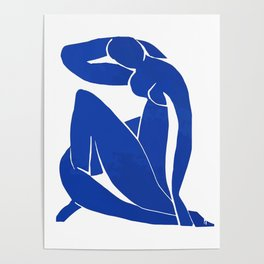 Henri Matisse - Blue Nude 1952 - Original Artwork Reproduction Poster