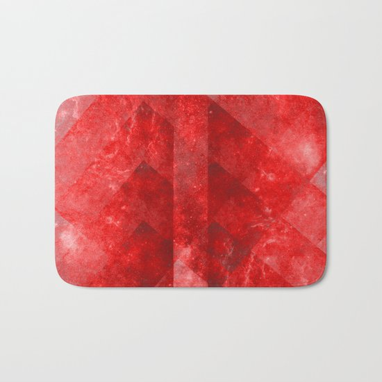 Ruby Nebulæ Bath Mat