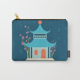 Chinoiserie Hut Carry-All Pouch