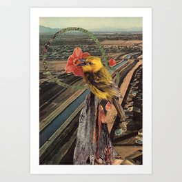 the more you fly Art Print