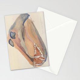 Baboon Skull Stationery Cards