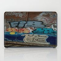 grafitti iPad Cases featuring Grafitti Art by Lisa De Rosa-Essence of Life Photography