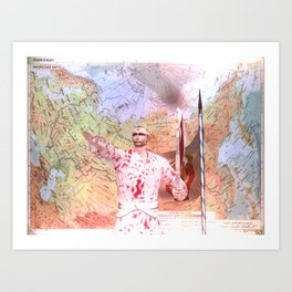 Leader Art Print