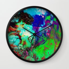 JUST COLOUR Wall Clock
