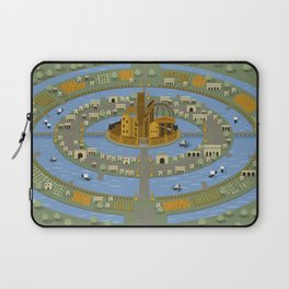 atlantis myth city Laptop Sleeve