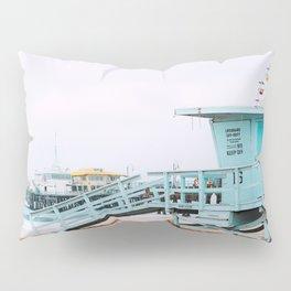 Santa Monica Pier Lifeguard Pillow Sham