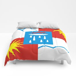 Sochi flag - Authentic version Comforters