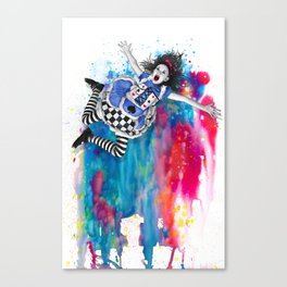 Sweet Disposition Canvas Print