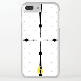 The 6 Clock Clear iPhone Case