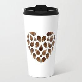 Hedgehog Heart Travel Mug