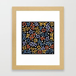 Colorful Party! Framed Art Print