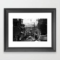 Winter Kyoto Framed Art Print