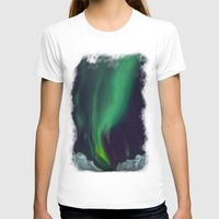 northern lights T-shirts featuring northern lights by Ewa Pacia