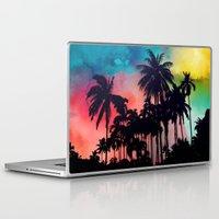 palm tree Laptop & iPad Skins featuring palm tree by mark ashkenazi
