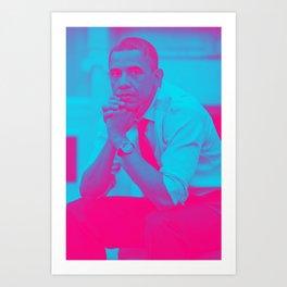 President Barack Obama 8a Art Print