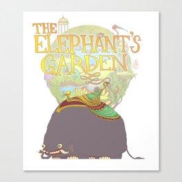 The Elephant's Garden - Version 2 Canvas Print