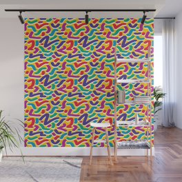Parade of Colours Wall Mural