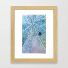 The Swinging Tree Framed Art Print