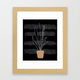 Scandi Plant 2 Framed Art Print
