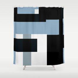 GW Shapes I Shower Curtain