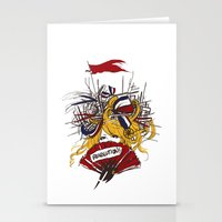 revolution Stationery Cards featuring Revolution! by The Eggplant Market