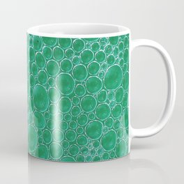 Champagne Bubbles Collection: #2 - Emerald Green Coffee Mug