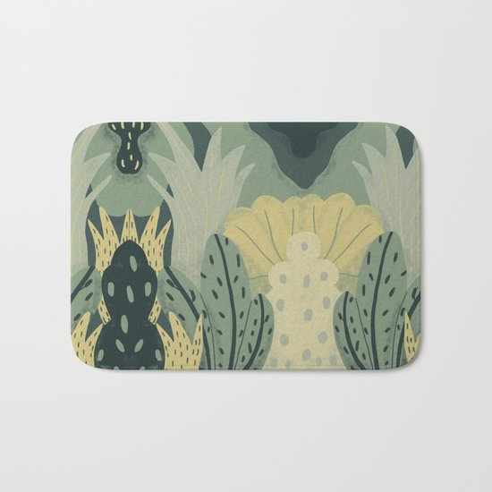 greenery Bath Mat