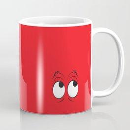 Monster Eyes Red Coffee Mug
