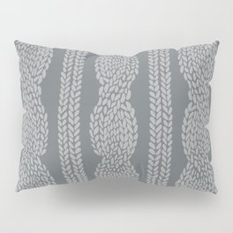 Cable Greys Pillow Sham