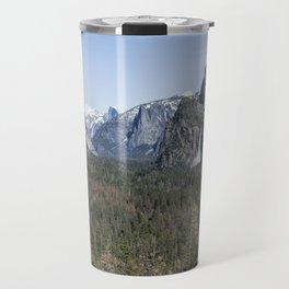 Tunnel View of Yosemite During Spring Travel Mug
