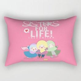 Sisters for Life Insya-Allah Rectangular Pillow