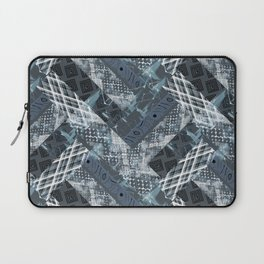 Combined ethnic pattern. Patchwork.2 Laptop Sleeve