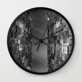 HONG KONG 24 Wall Clock