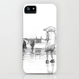 """""""Death of a Free Elf"""" - Dobby in Deathly Hallows iPhone Case"""