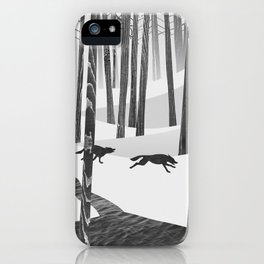 Martwood Wolves iPhone Case