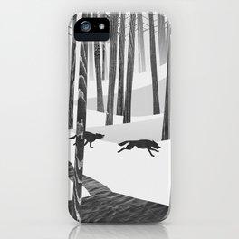 Martwood Wolves iPhone Case