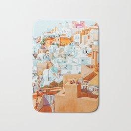 Santorini Vacay #photography #greece #travel Bath Mat