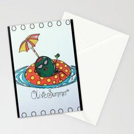 Olive Summer Stationery Cards