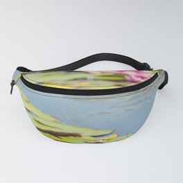 Lilly Pond Flowers Fanny Pack