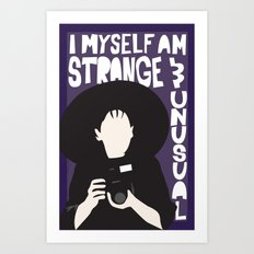 Strange and Unusual Art Print