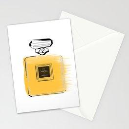 Orange perfume #4 Stationery Cards