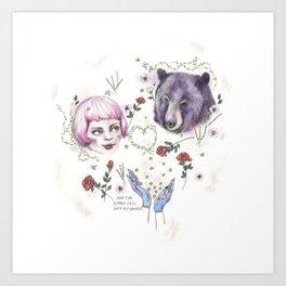 The Stars Fell Into My Hands Art Print
