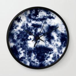 Tie Dye & Batik Wall Clock