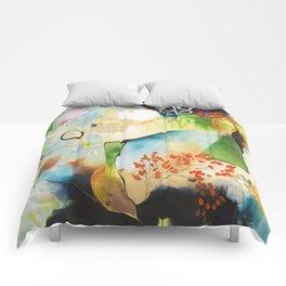 """Rainwash"" Original Painting by Flora Bowley Comforters"
