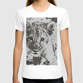 Urban Pop Art lion cub T-shirt